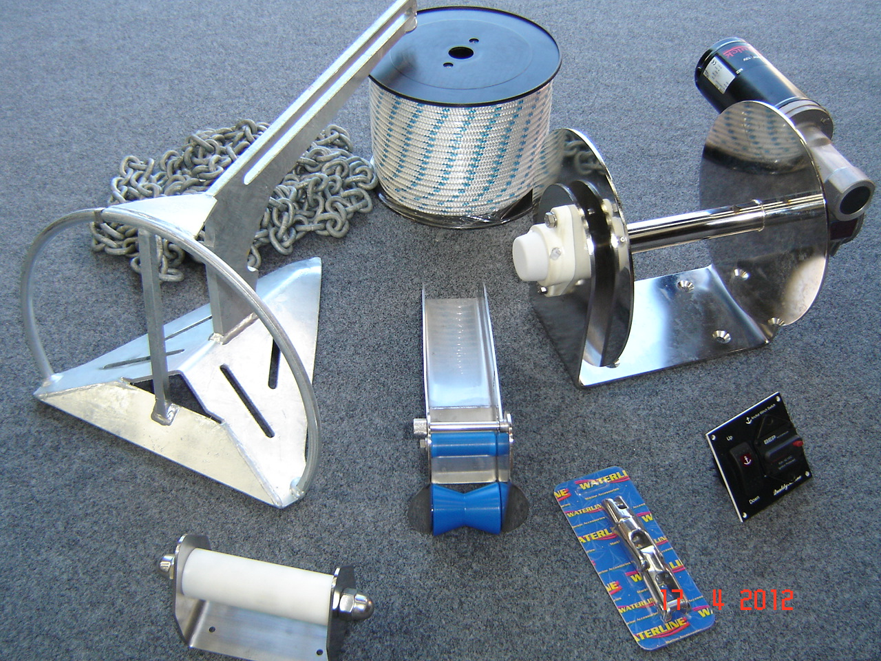 ELECTRIC ANCHOR WINCH KITS ON SALE NOW!!!
